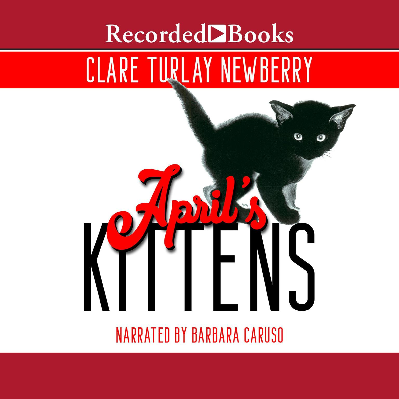 Printable April's Kittens Audiobook Cover Art