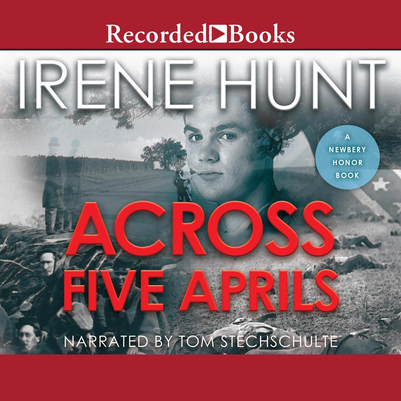 Printable Across Five Aprils Audiobook Cover Art
