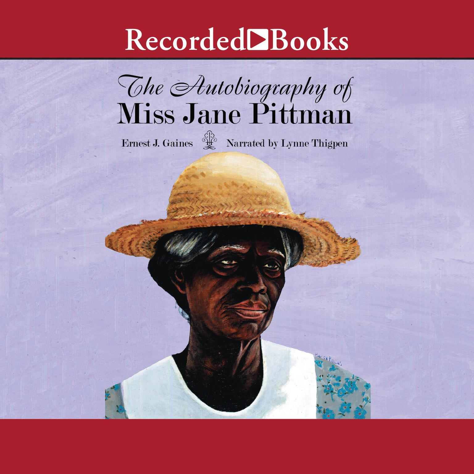 Printable The Autobiography of Miss Jane Pittman Audiobook Cover Art