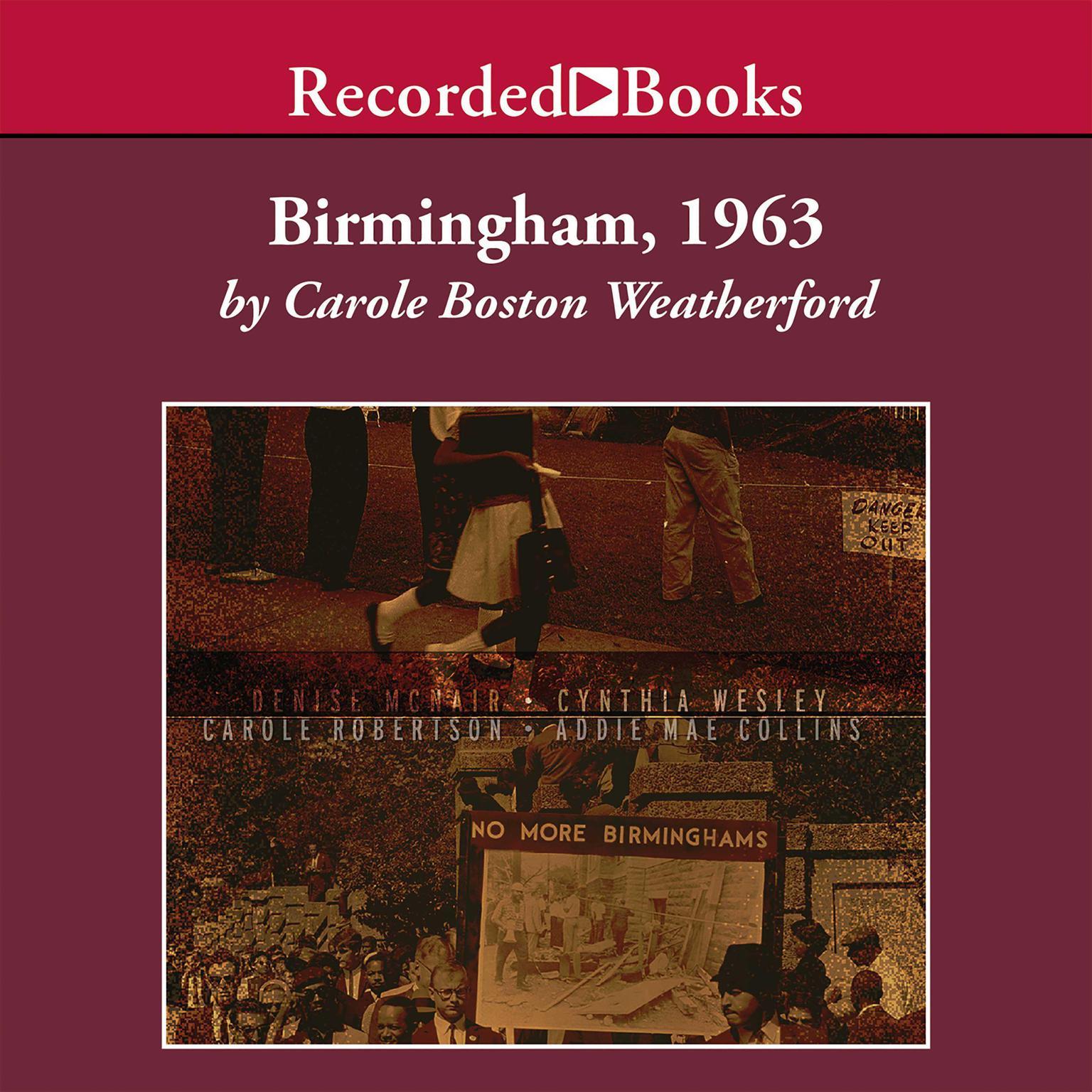 Printable Birmingham, 1963 Audiobook Cover Art