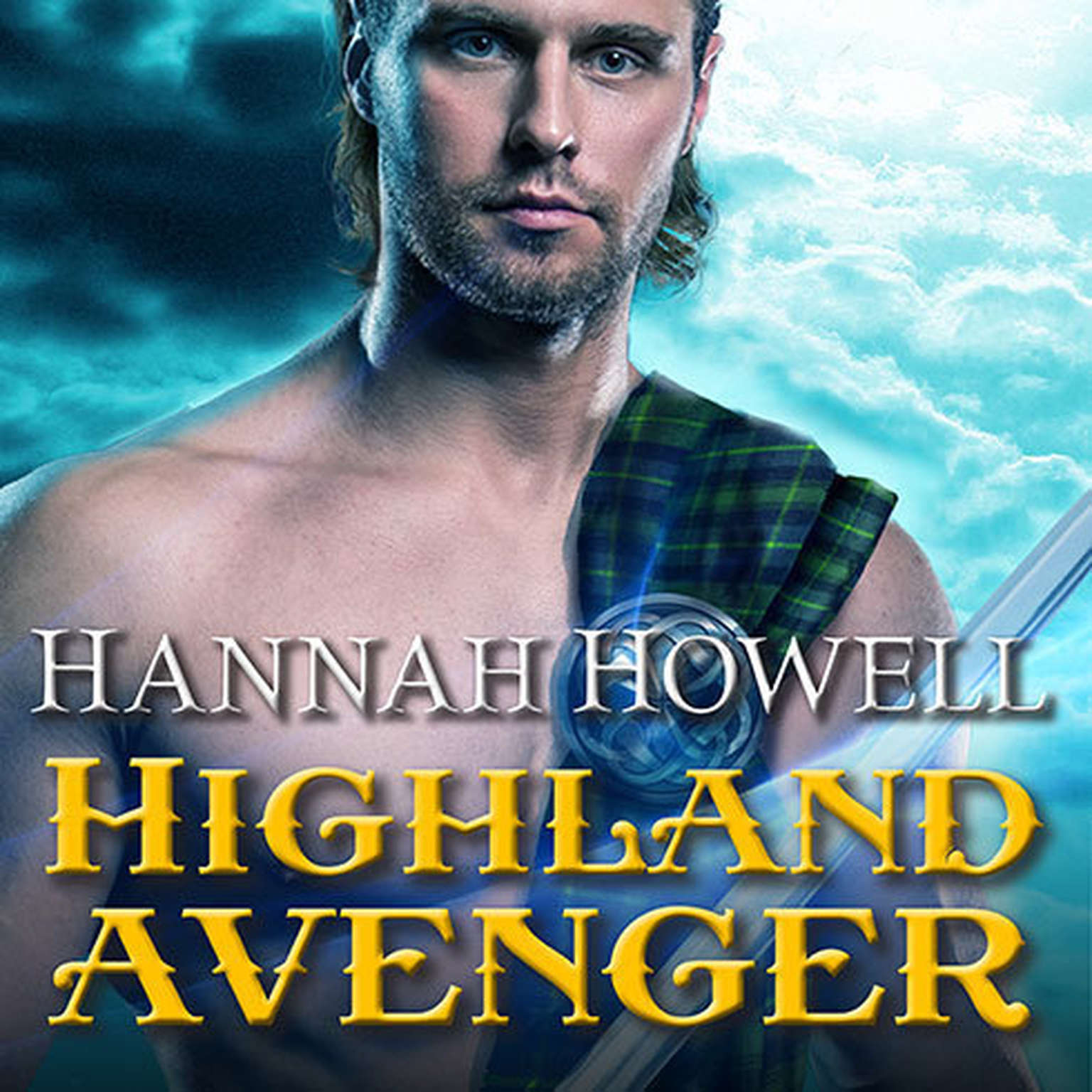 Printable Highland Avenger Audiobook Cover Art