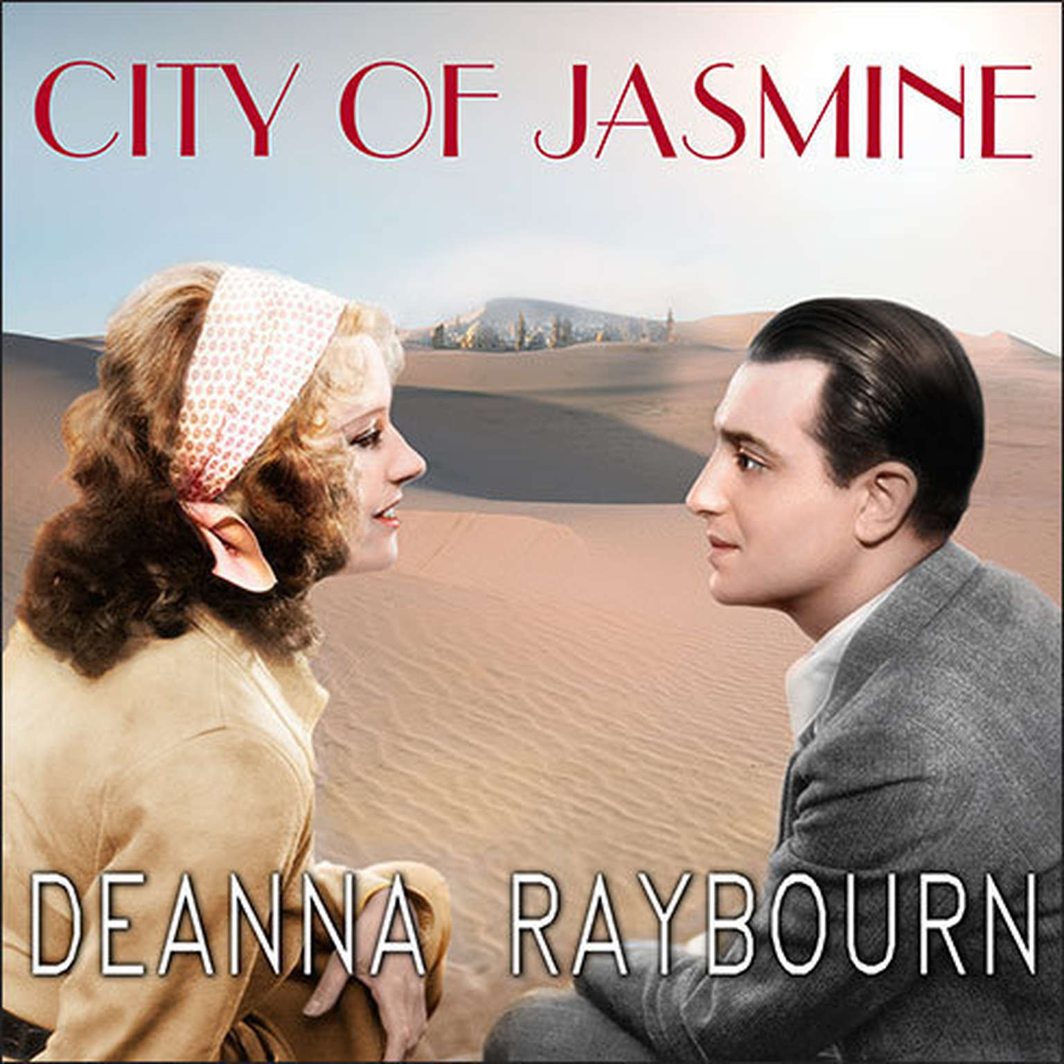 Printable City of Jasmine Audiobook Cover Art
