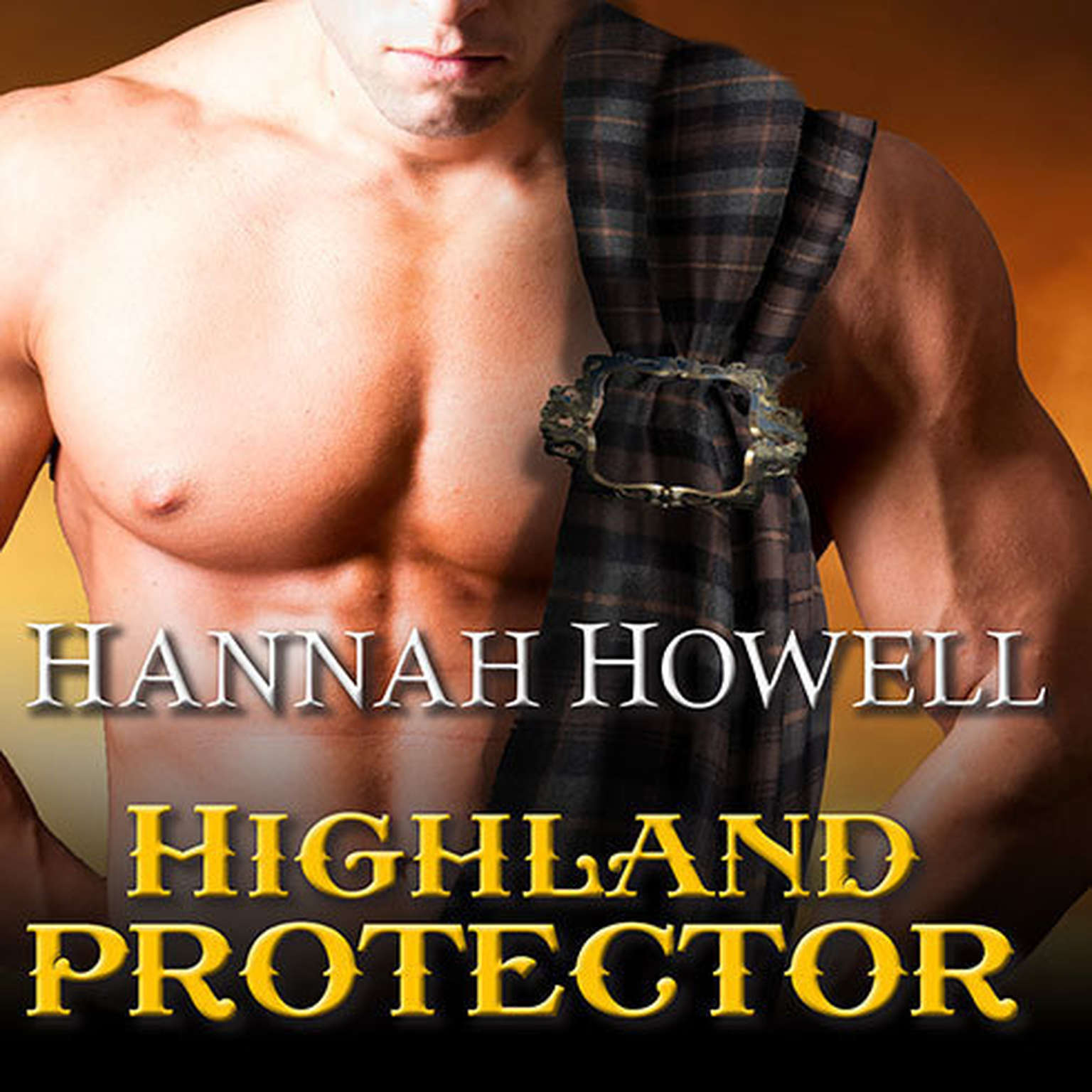 Printable Highland Protector Audiobook Cover Art