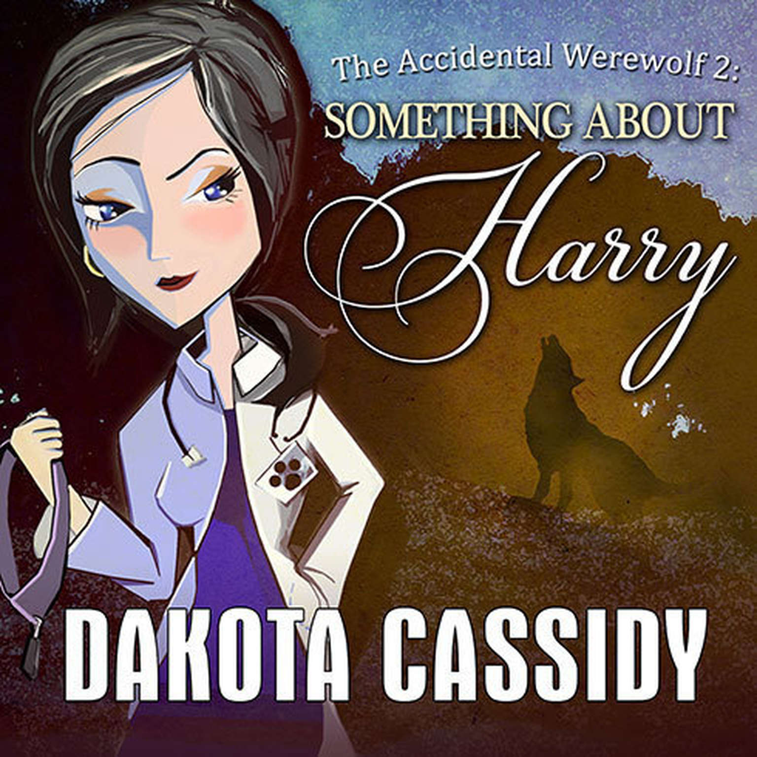 Printable The Accidental Werewolf 2: Something About Harry Audiobook Cover Art