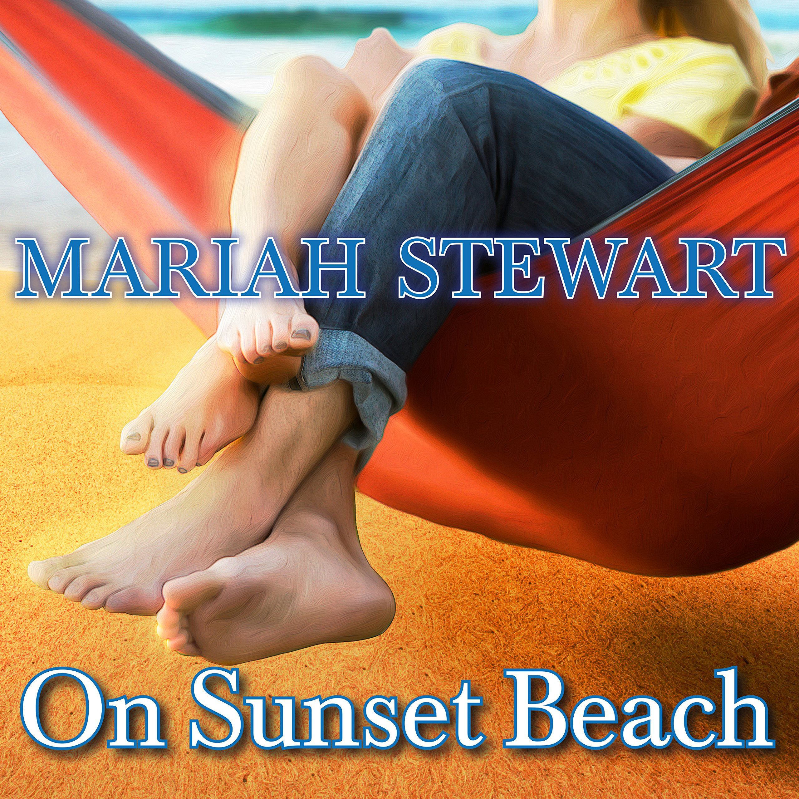 Printable On Sunset Beach Audiobook Cover Art