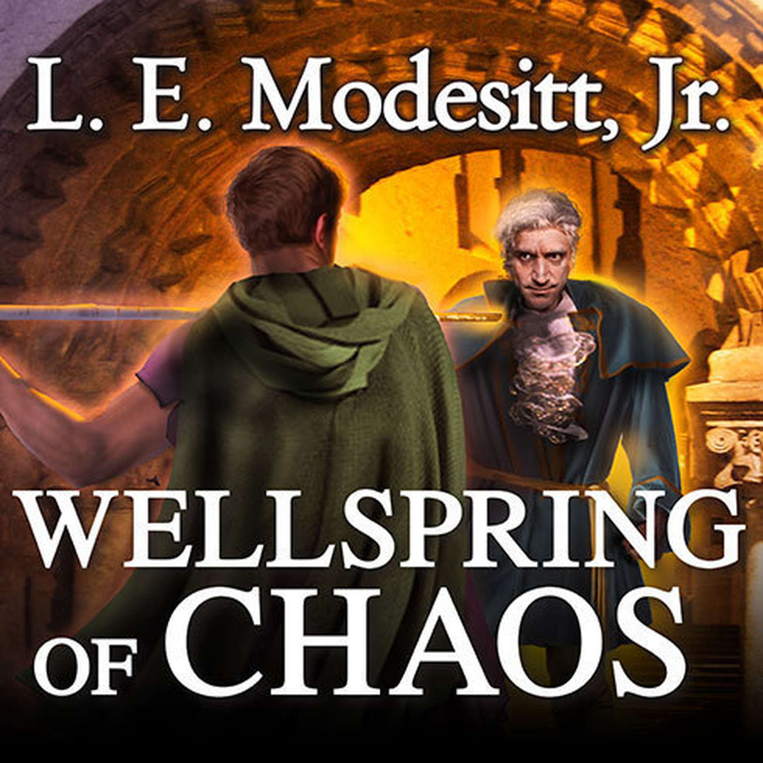 Printable Wellspring of Chaos Audiobook Cover Art