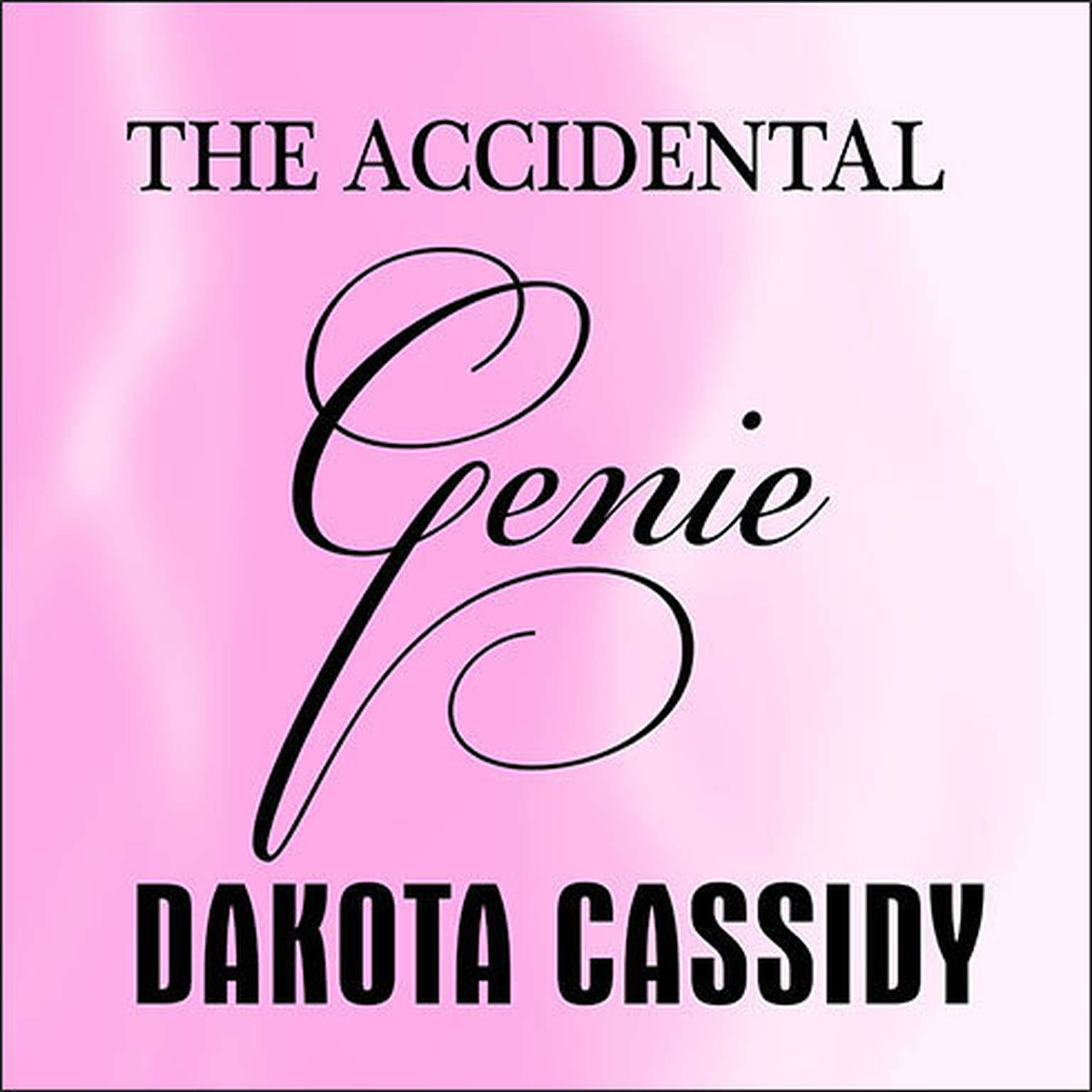 Printable The Accidental Genie Audiobook Cover Art