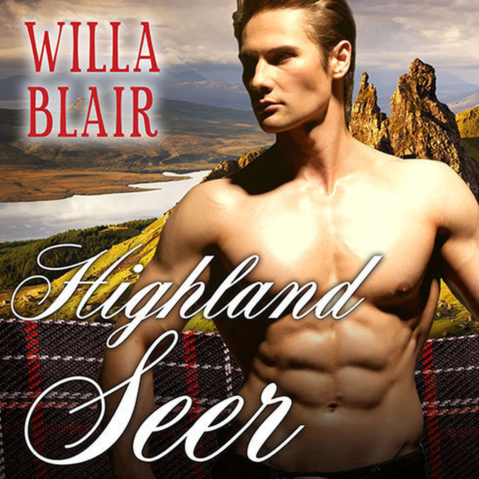 Printable Highland Seer Audiobook Cover Art