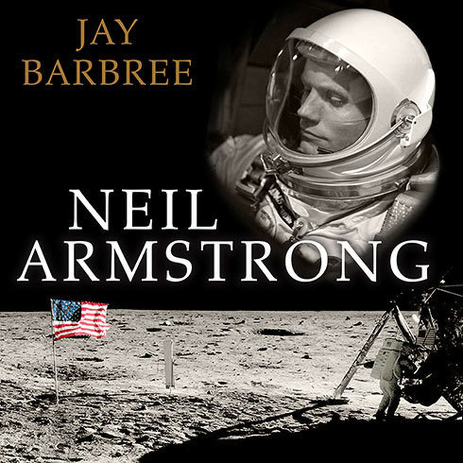 Printable Neil Armstrong: A Life of Flight Audiobook Cover Art