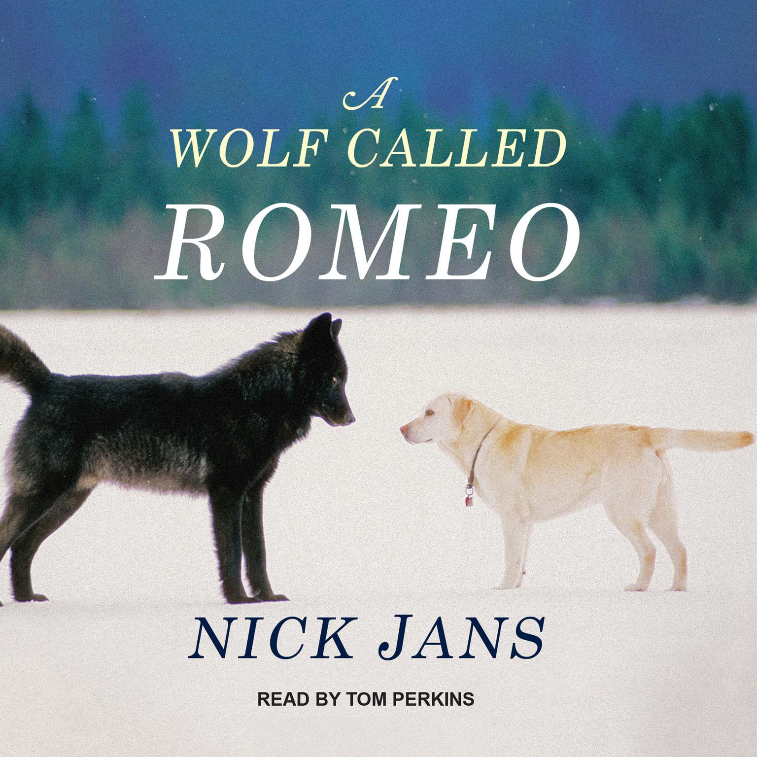 Printable A Wolf Called Romeo Audiobook Cover Art