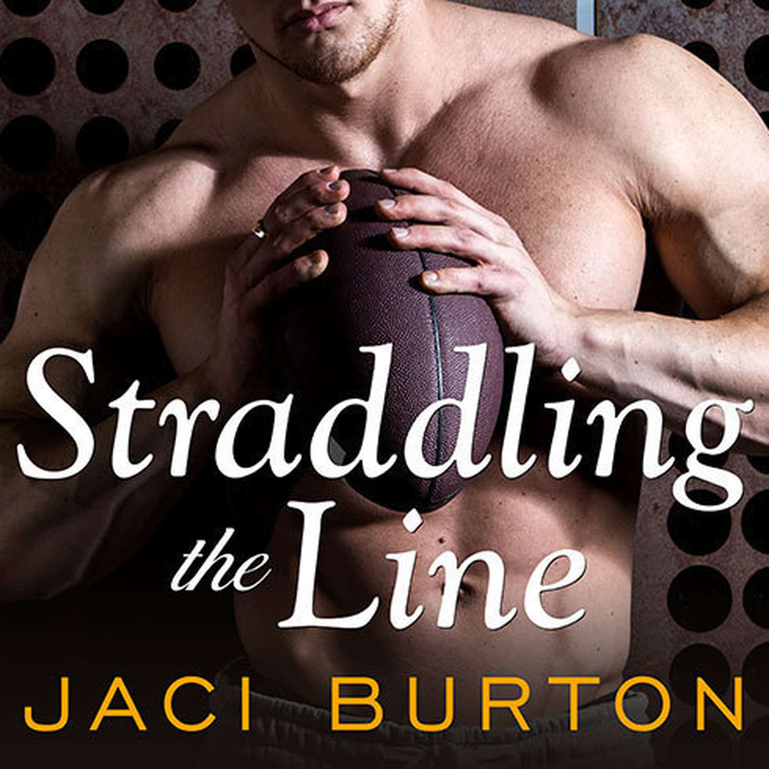 Printable Straddling the Line Audiobook Cover Art