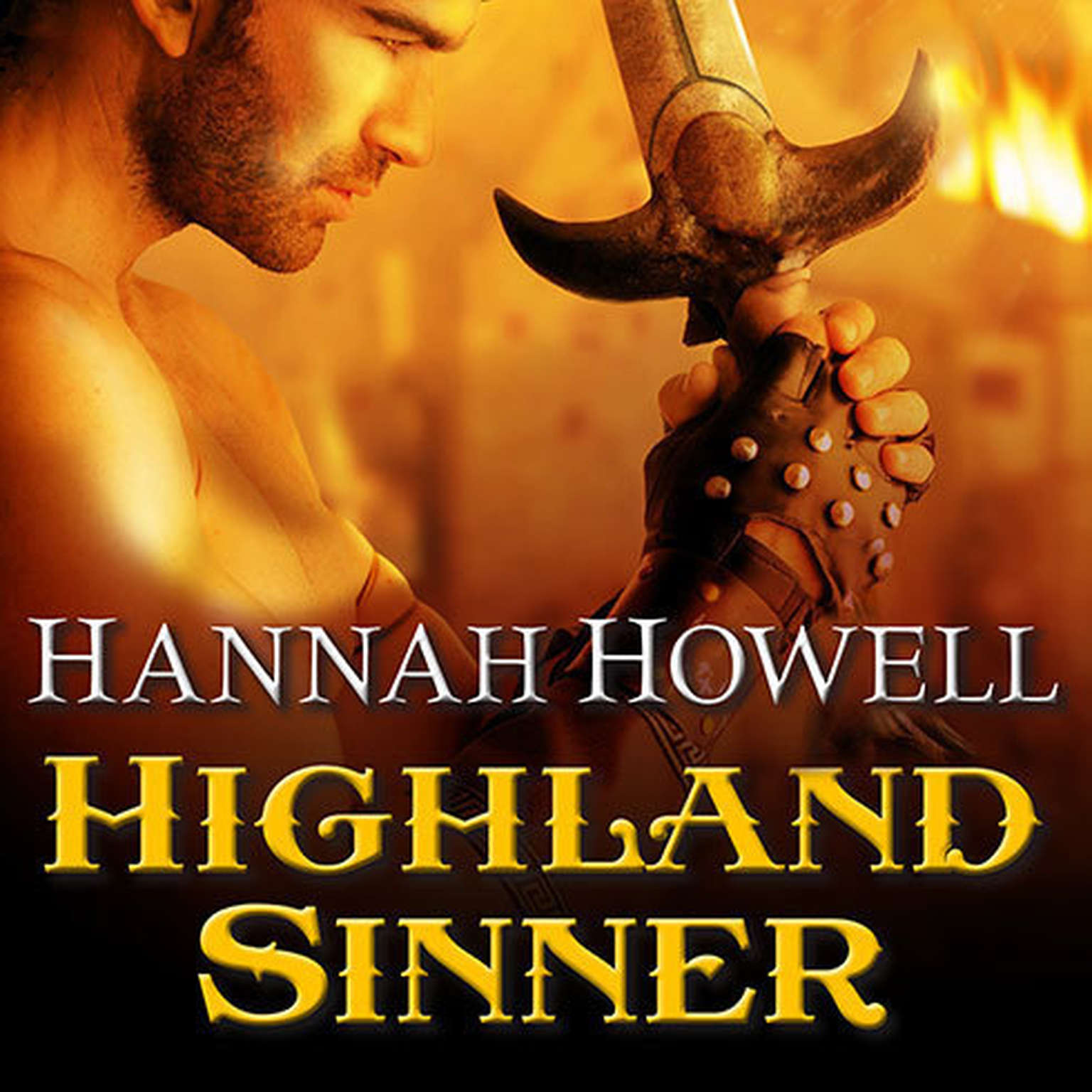 Printable Highland Sinner Audiobook Cover Art