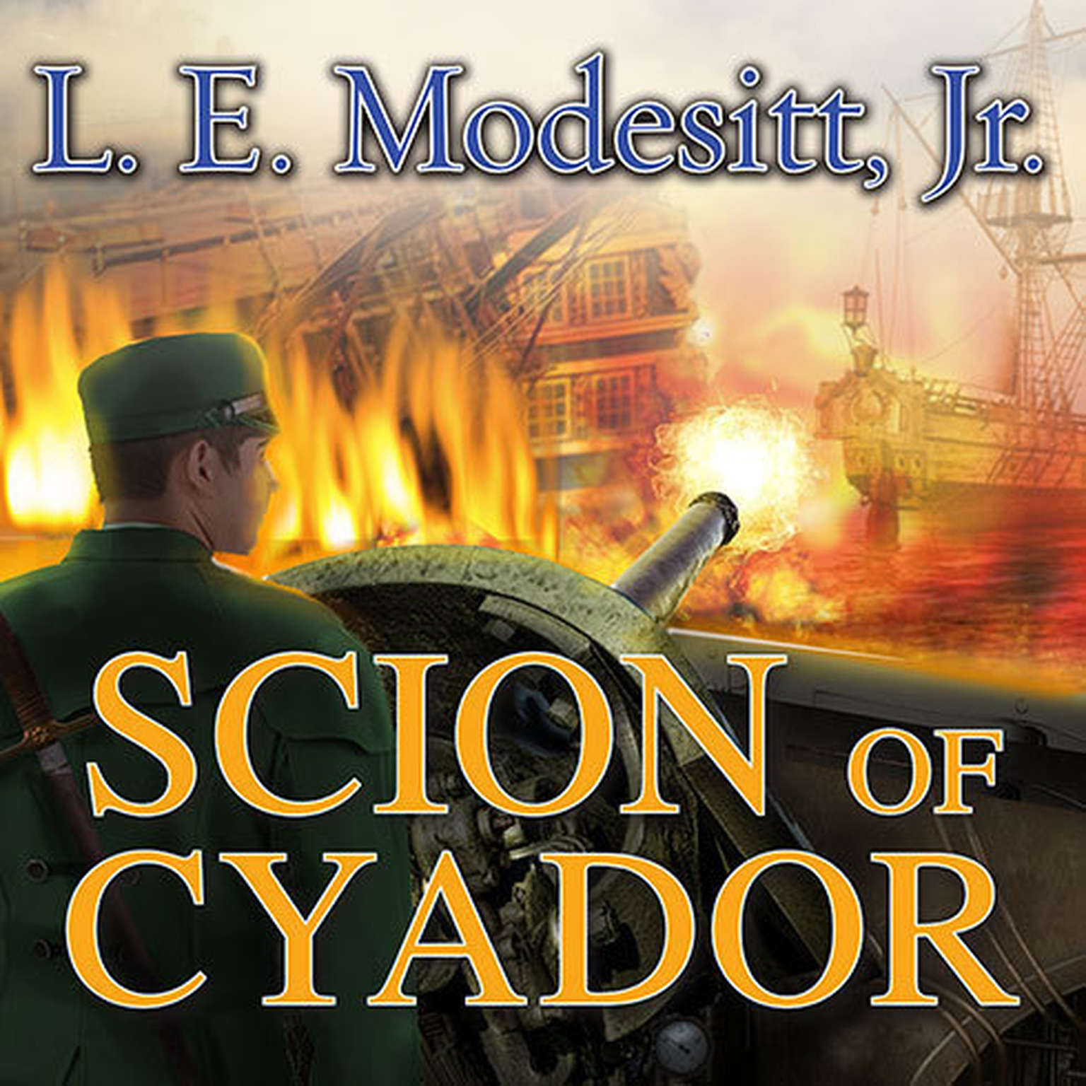 Printable Scion of Cyador Audiobook Cover Art
