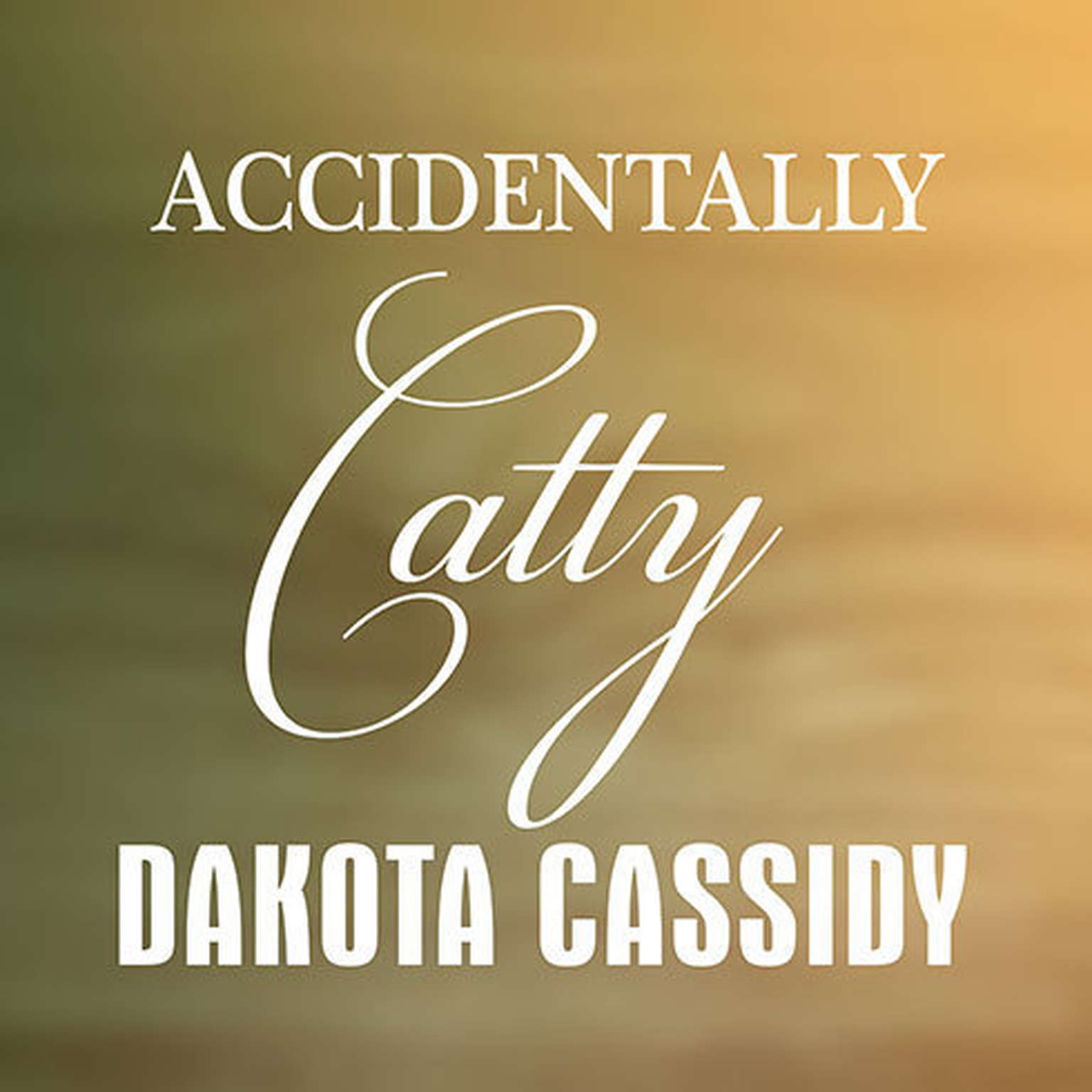 Printable Accidentally Catty Audiobook Cover Art