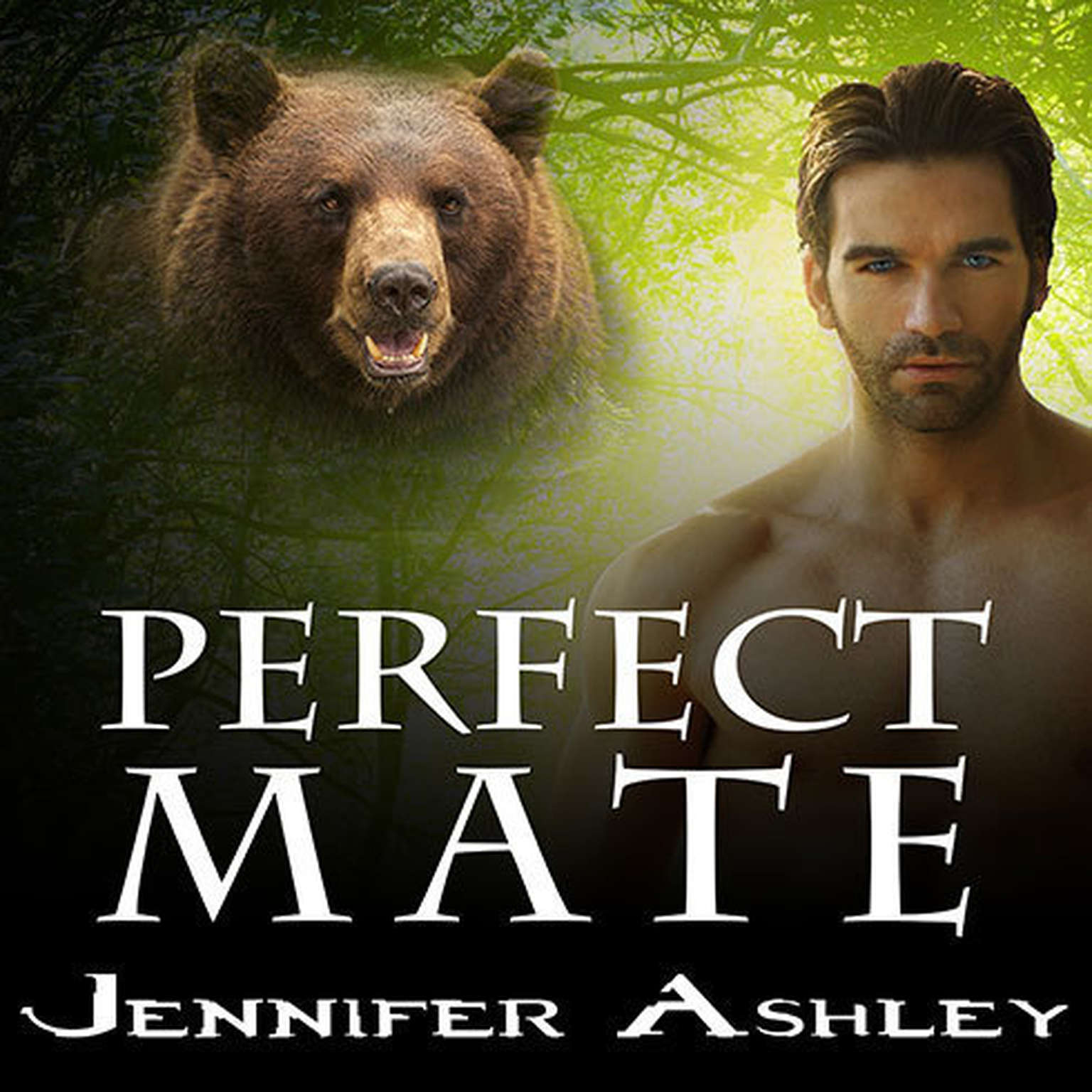 Printable Perfect Mate: A Shifters Unbound Novella Audiobook Cover Art
