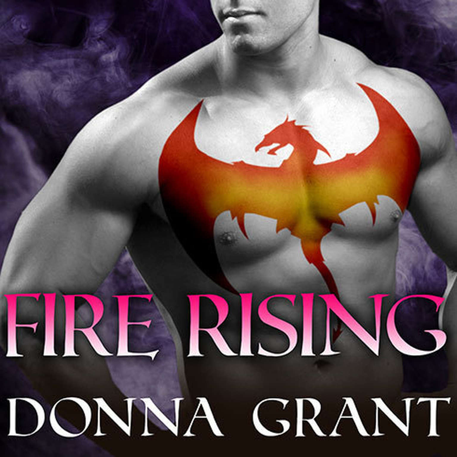 Printable Fire Rising Audiobook Cover Art