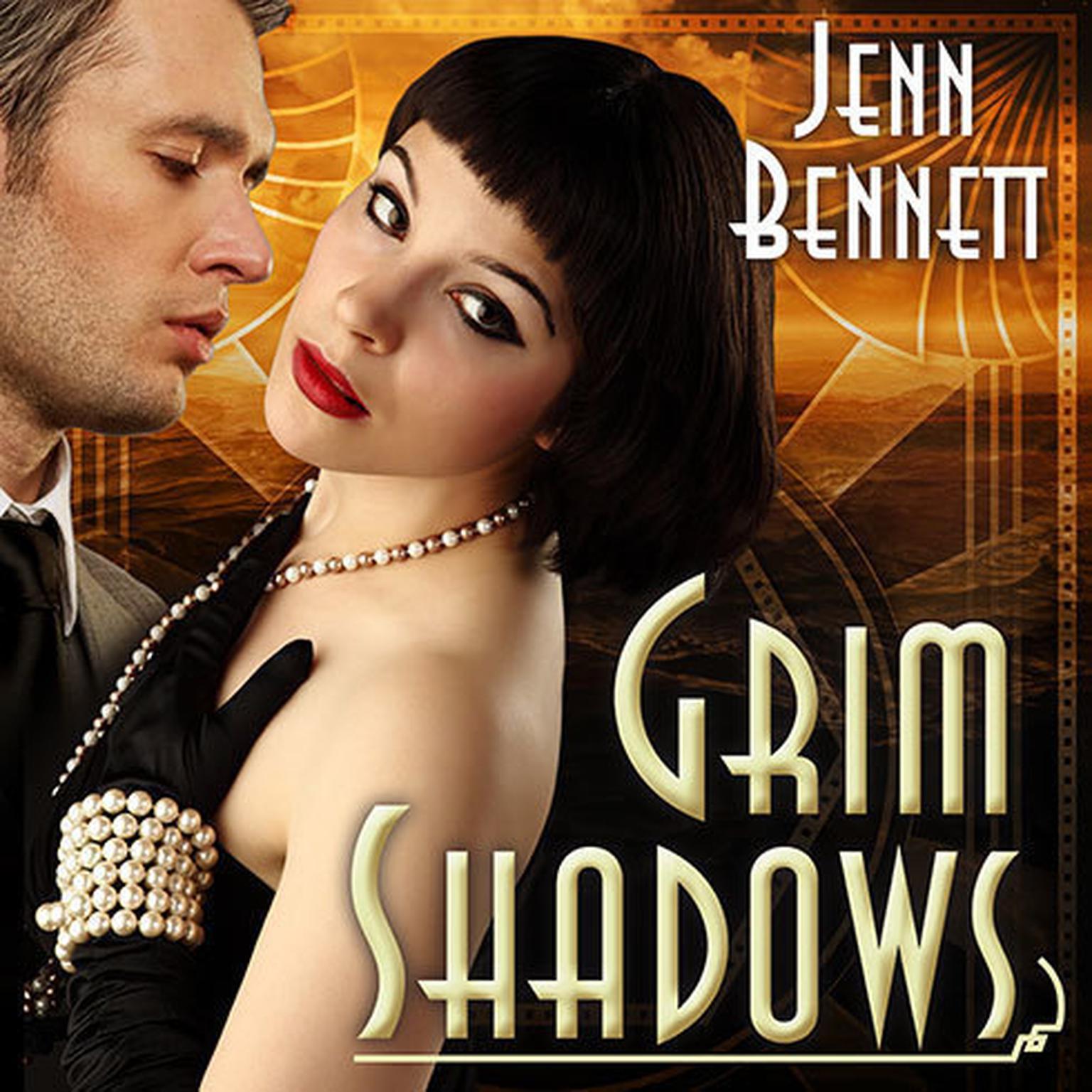 Printable Grim Shadows Audiobook Cover Art
