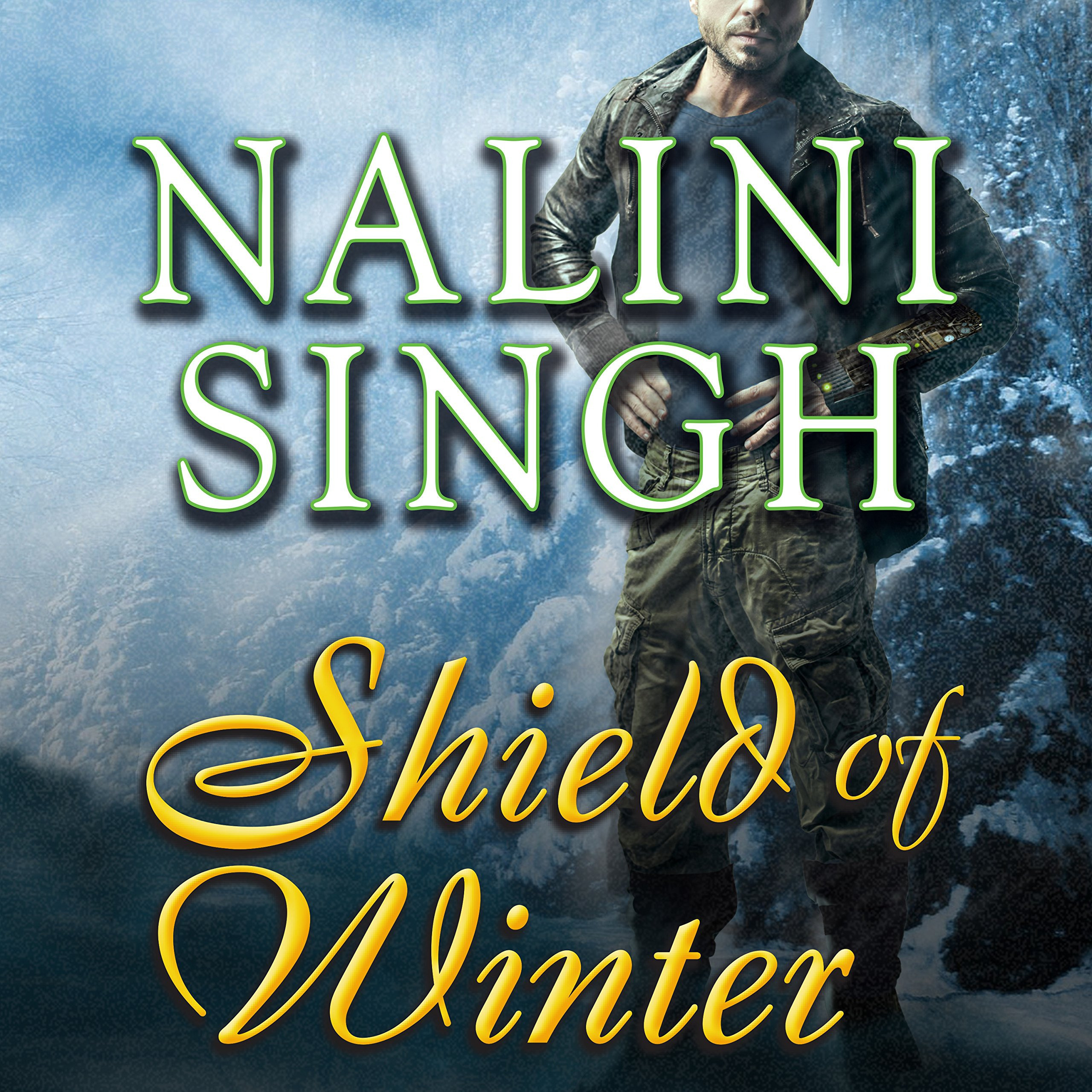 Printable Shield of Winter Audiobook Cover Art
