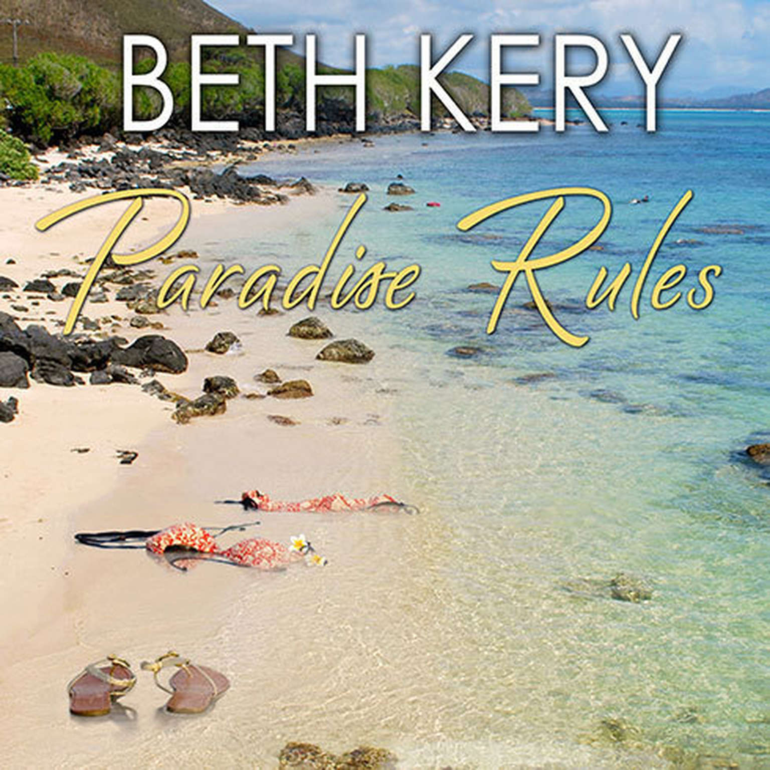 Printable Paradise Rules Audiobook Cover Art