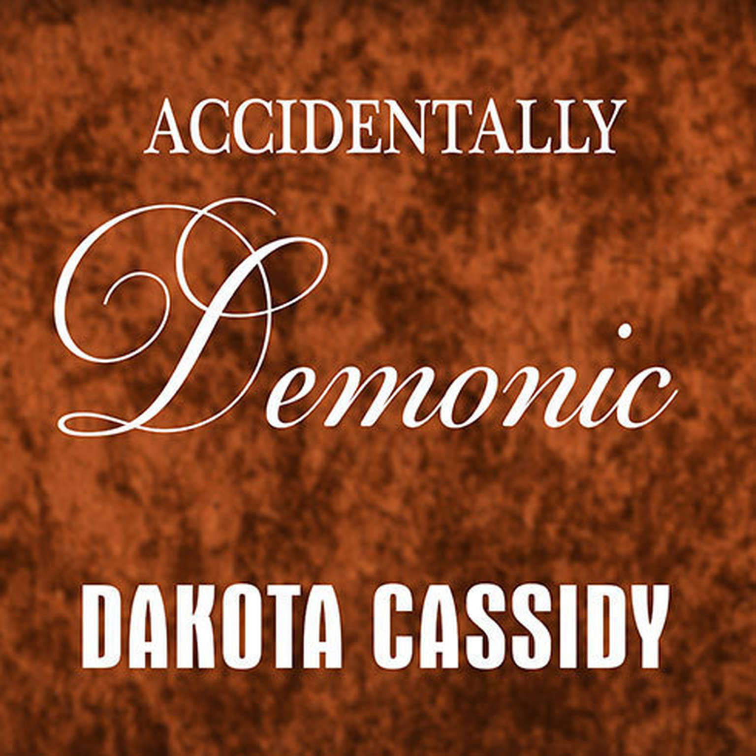 Printable Accidentally Demonic Audiobook Cover Art
