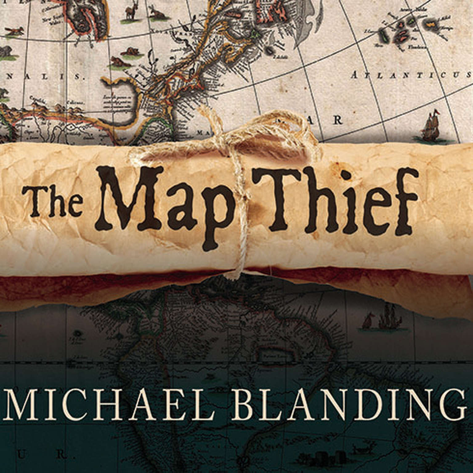 Printable The Map Thief: The Gripping Story of an Esteemed Rare-map Dealer Who Made Millions Stealing Priceless Maps Audiobook Cover Art