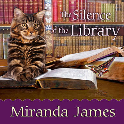 The Silence of the Library Audiobook, by Miranda James