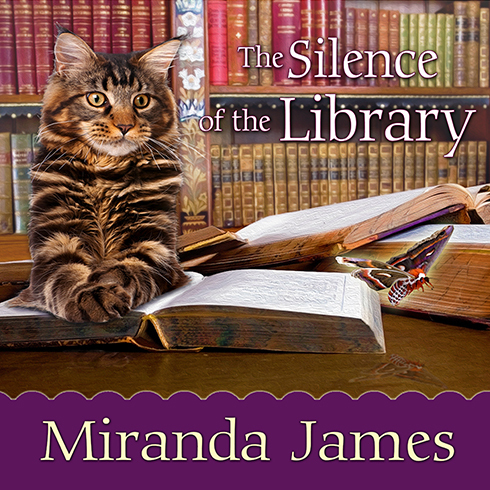 Printable The Silence of the Library Audiobook Cover Art