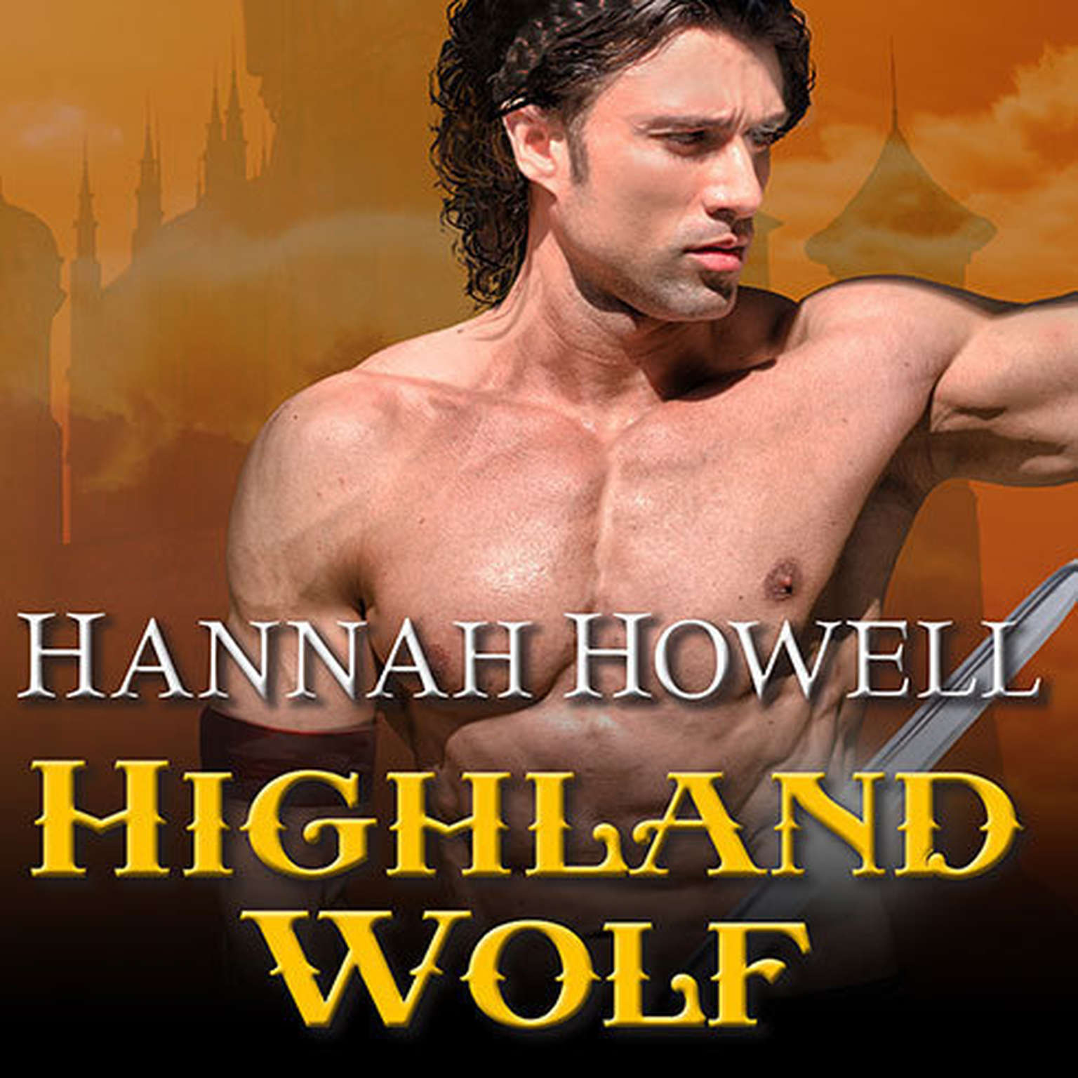 Printable Highland Wolf Audiobook Cover Art
