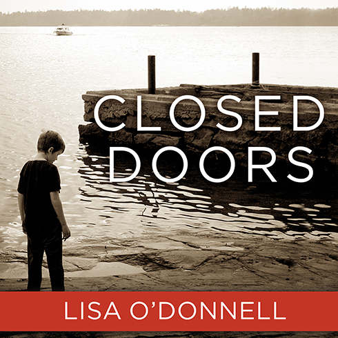 Printable Closed Doors Audiobook Cover Art