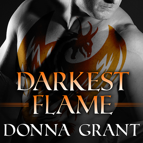 Printable Darkest Flame Audiobook Cover Art