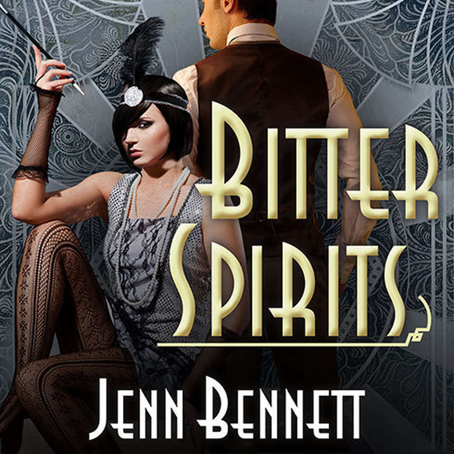 Printable Bitter Spirits Audiobook Cover Art