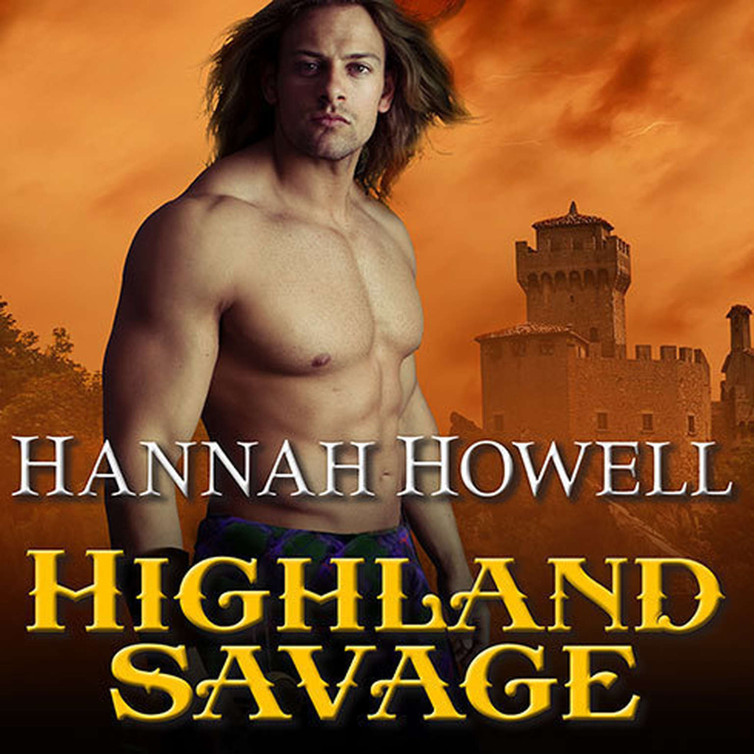 Printable Highland Savage Audiobook Cover Art