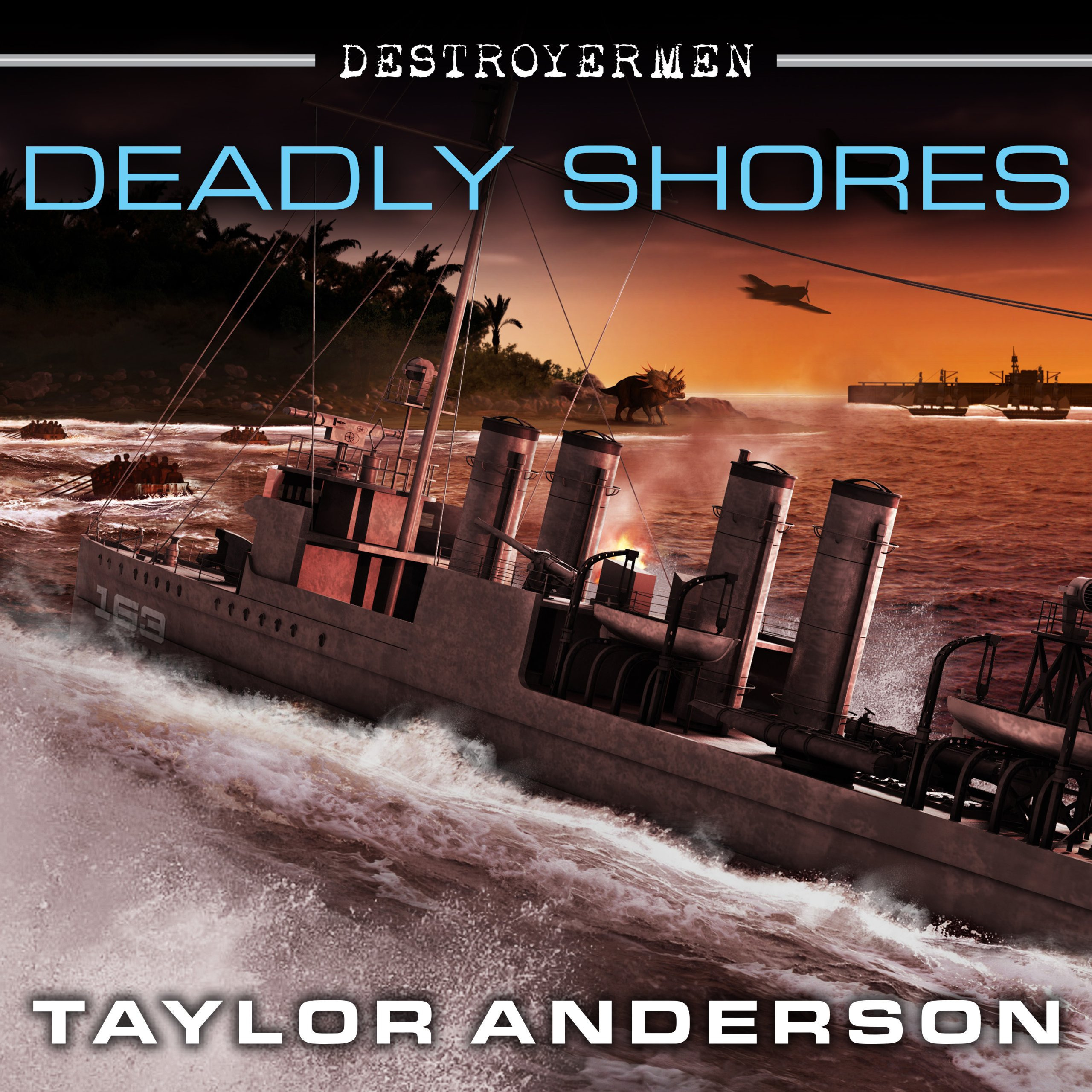 Printable Deadly Shores Audiobook Cover Art