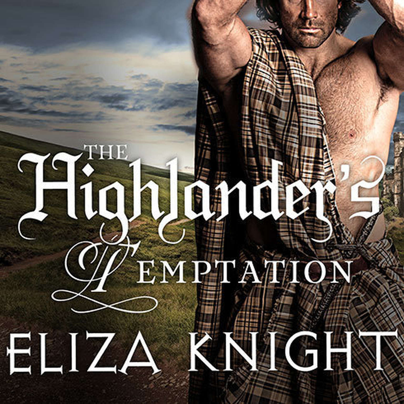 Printable The Highlander's Temptation Audiobook Cover Art