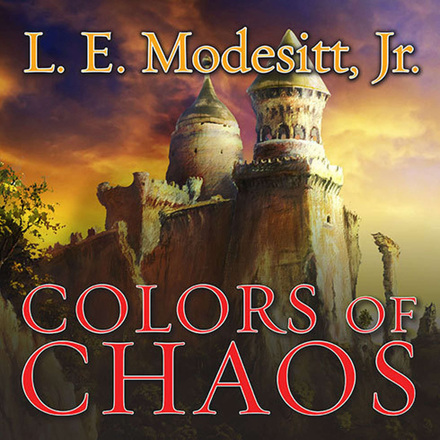 Printable Colors of Chaos Audiobook Cover Art