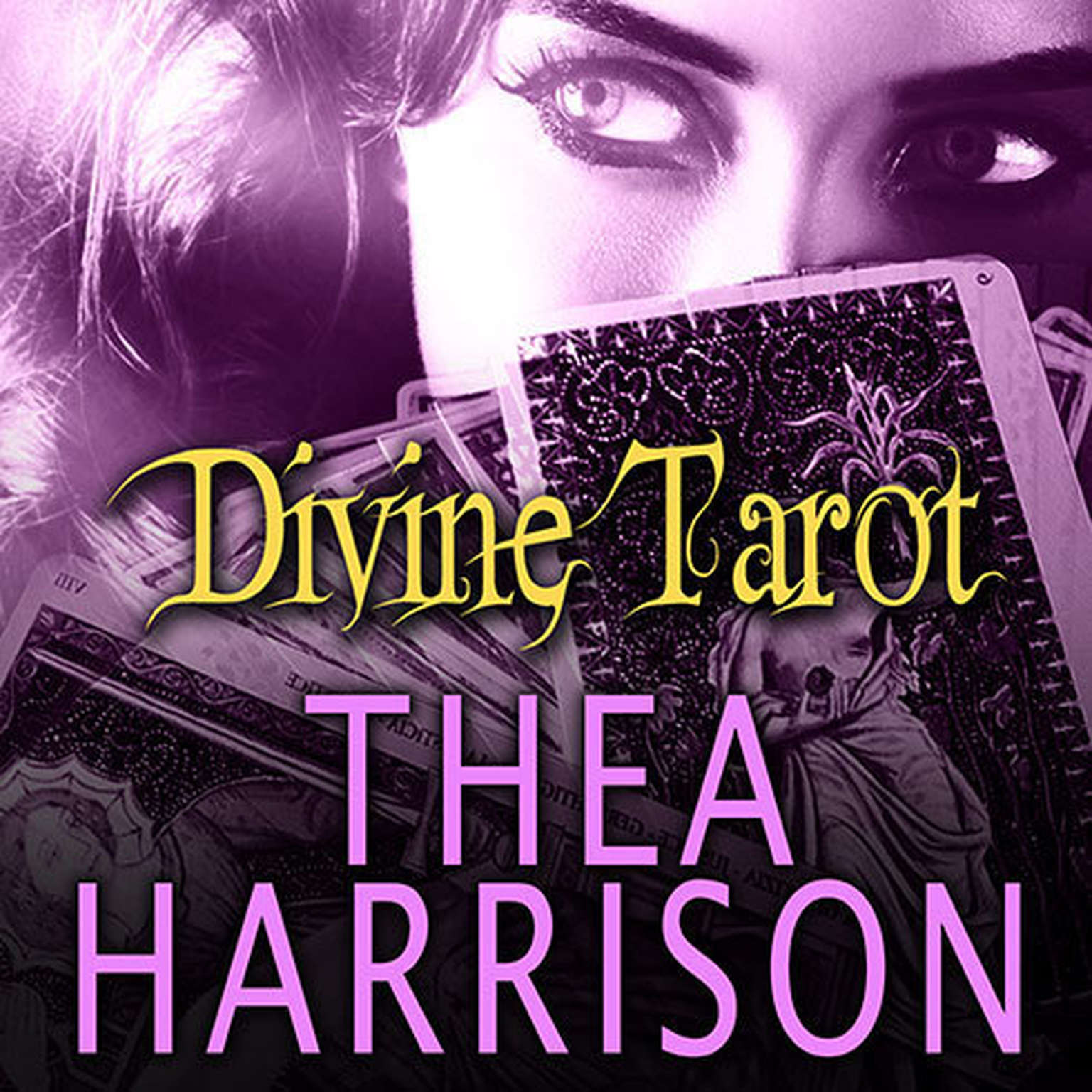 Printable Divine Tarot: An Elder Races Collection Audiobook Cover Art