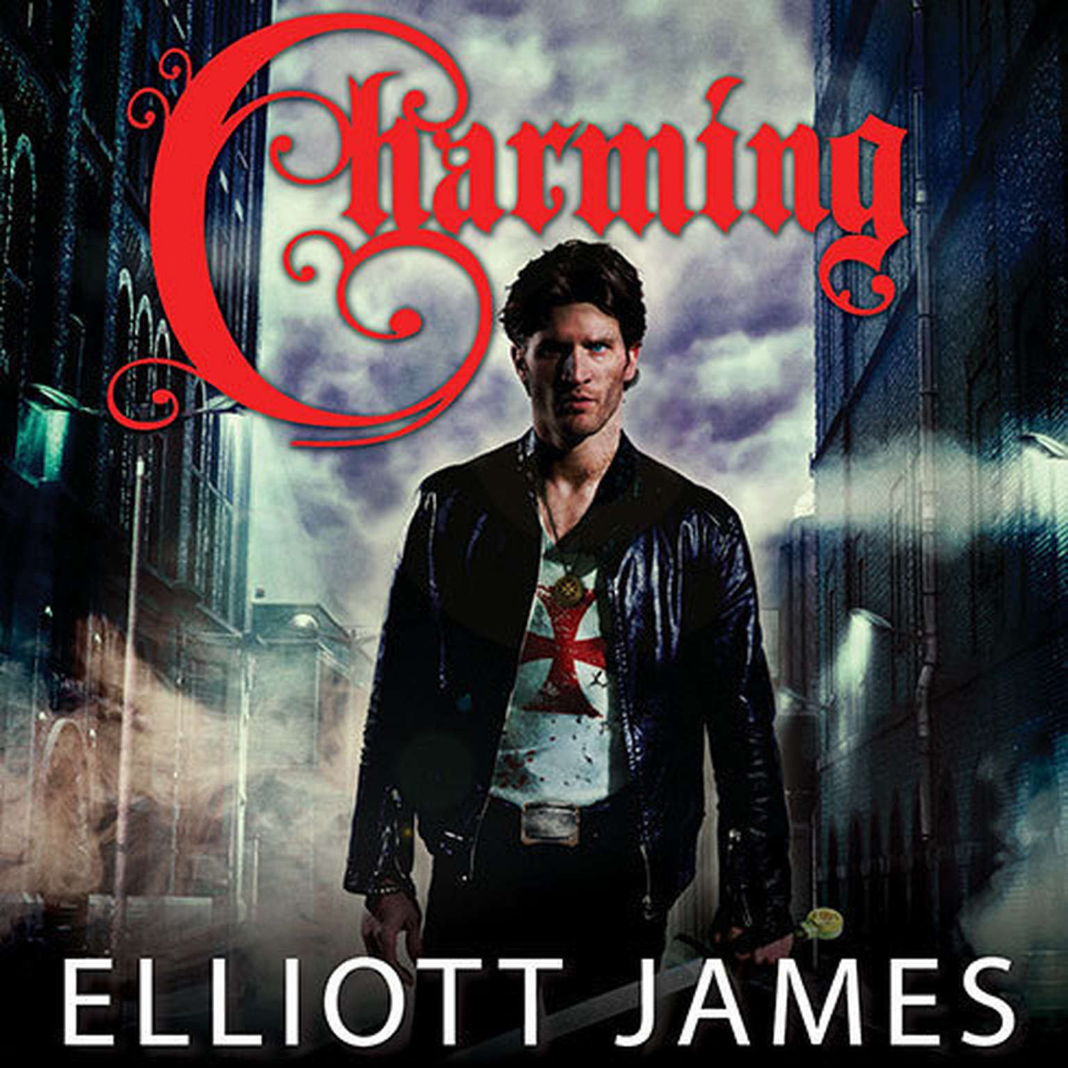 Printable Charming Audiobook Cover Art