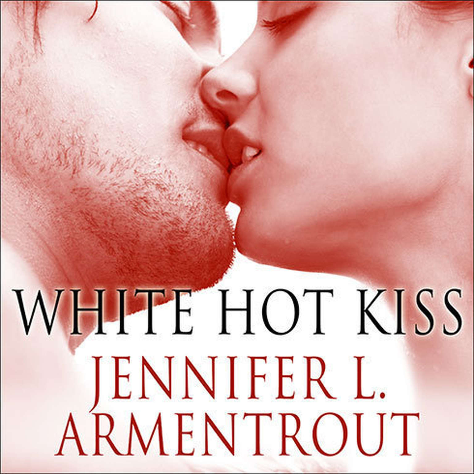Printable White Hot Kiss Audiobook Cover Art