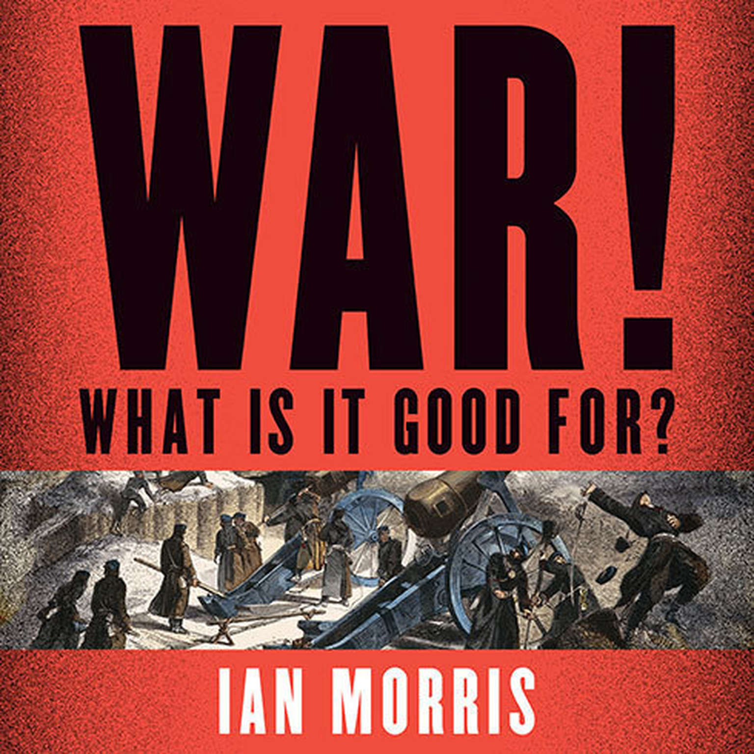 Printable War! What Is It Good For?: Conflict and the Progress of Civilization from Primates to Robots Audiobook Cover Art