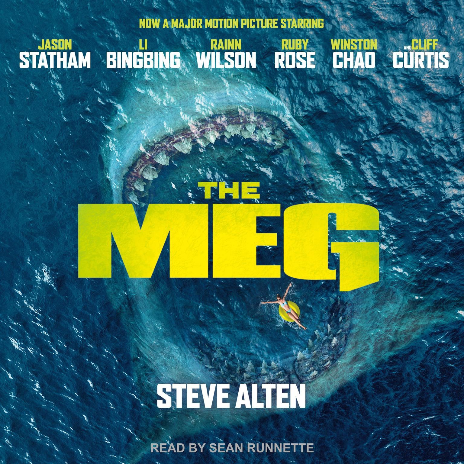 Printable Meg: A Novel of Deep Terror with Meg: Origins Audiobook Cover Art