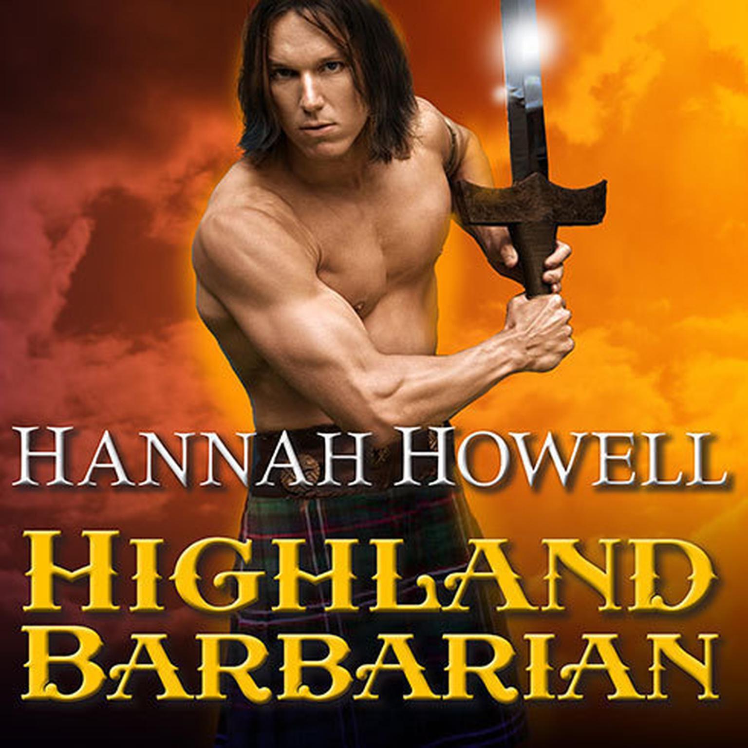 Printable Highland Barbarian Audiobook Cover Art