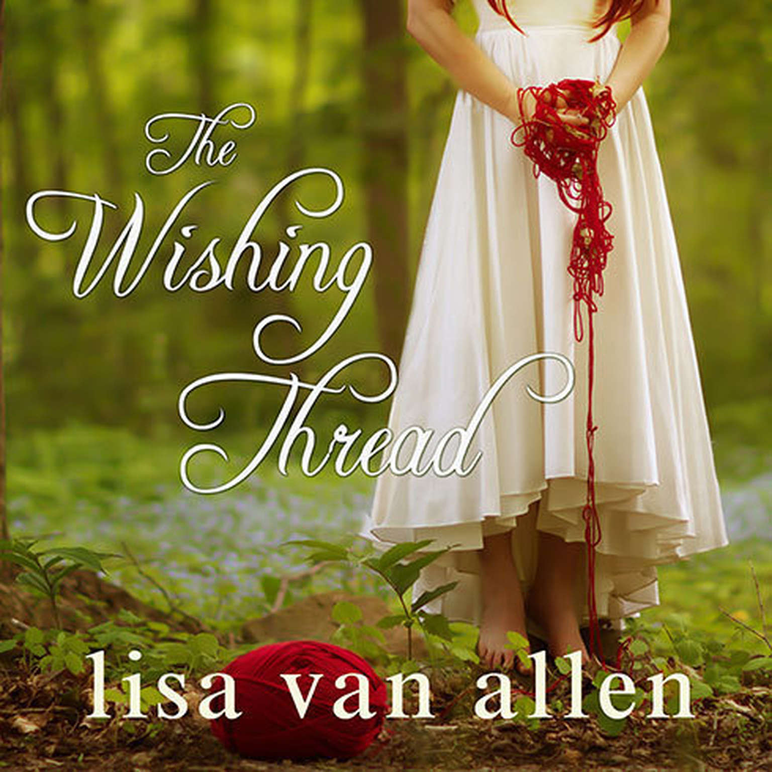 Printable The Wishing Thread Audiobook Cover Art