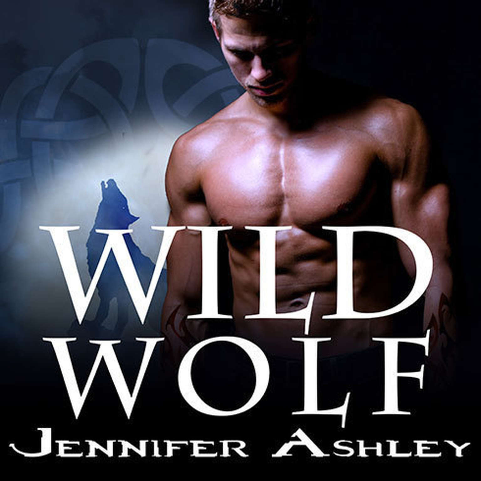 Printable Wild Wolf Audiobook Cover Art
