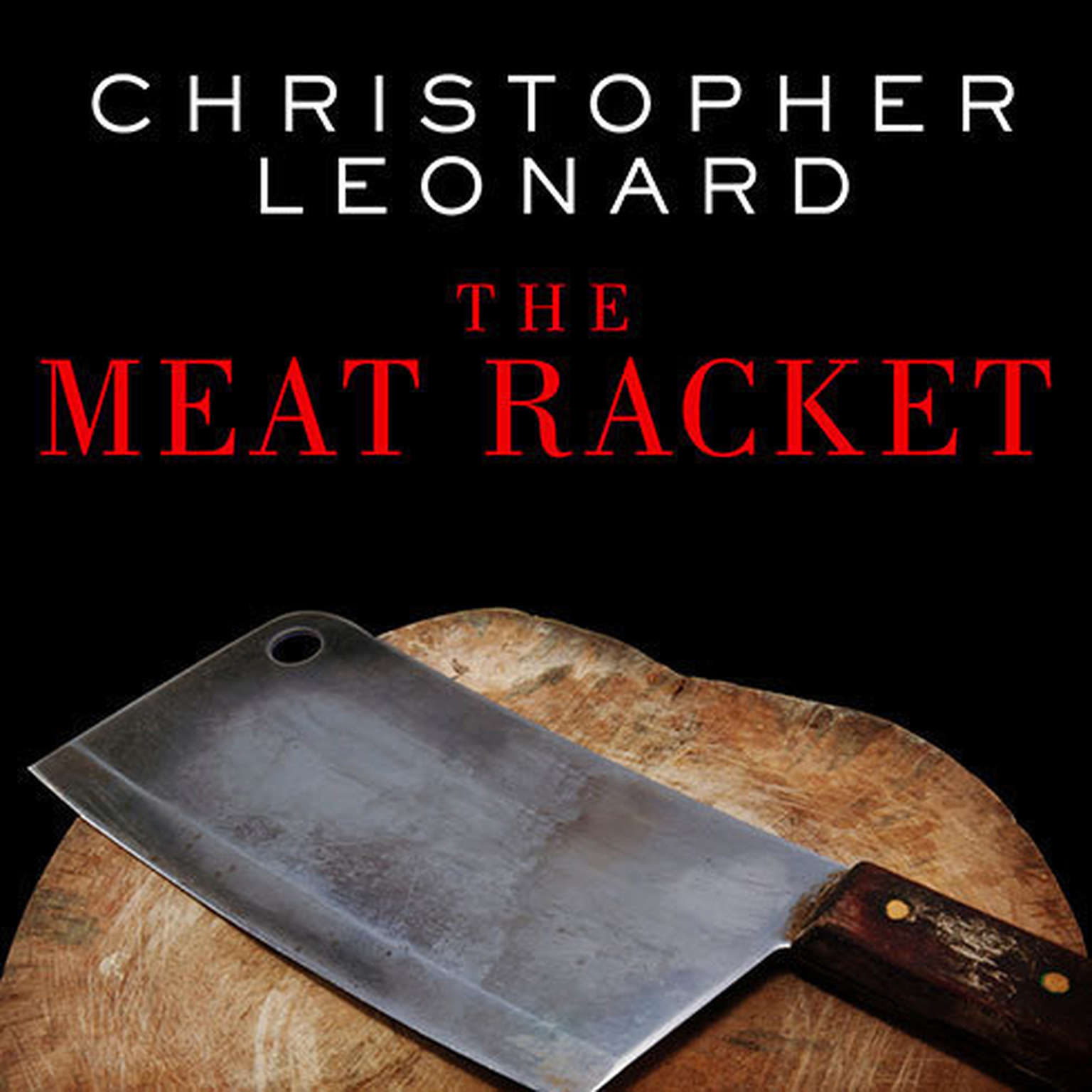 Printable The Meat Racket: The Secret Takeover of America's Food Business Audiobook Cover Art