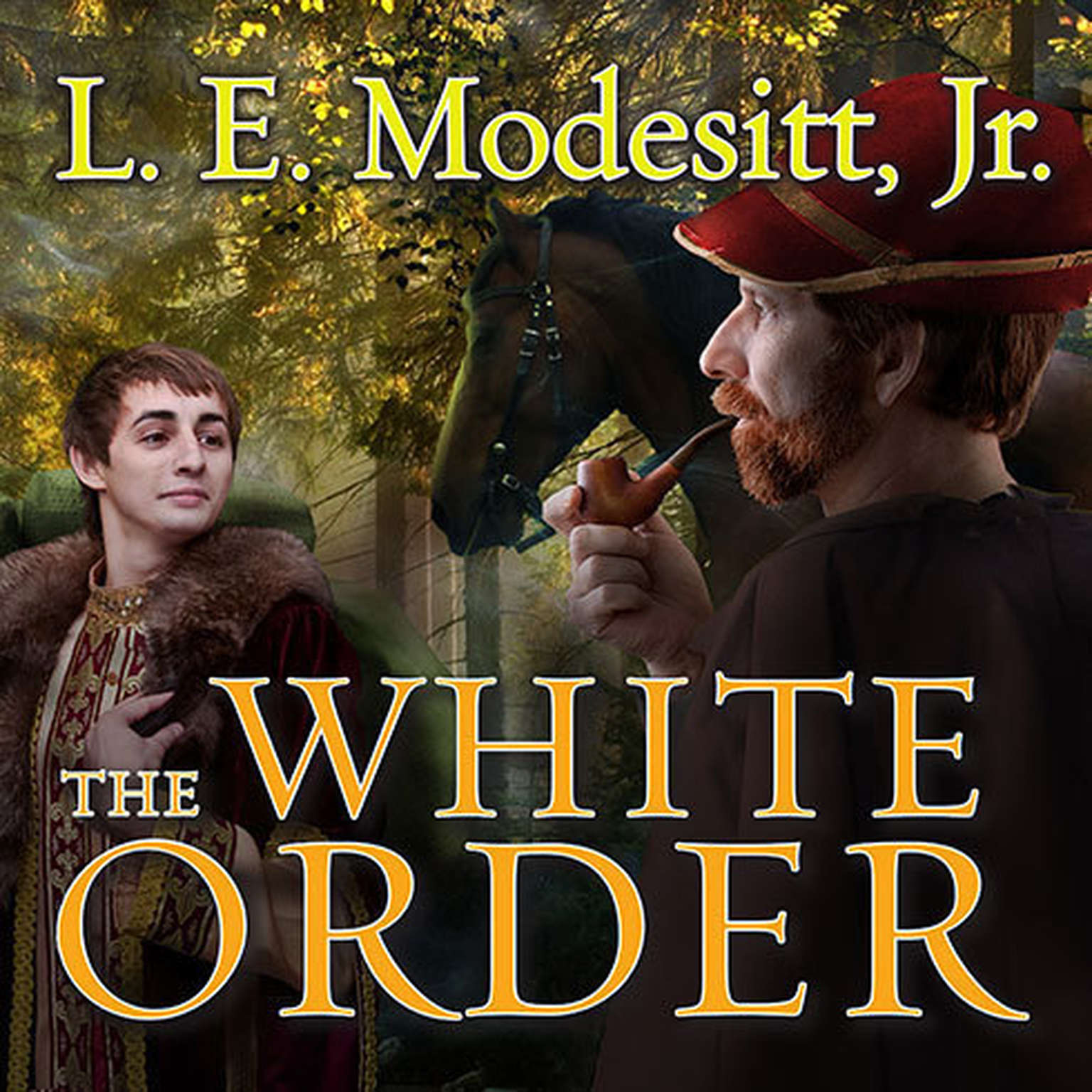 Printable The White Order Audiobook Cover Art