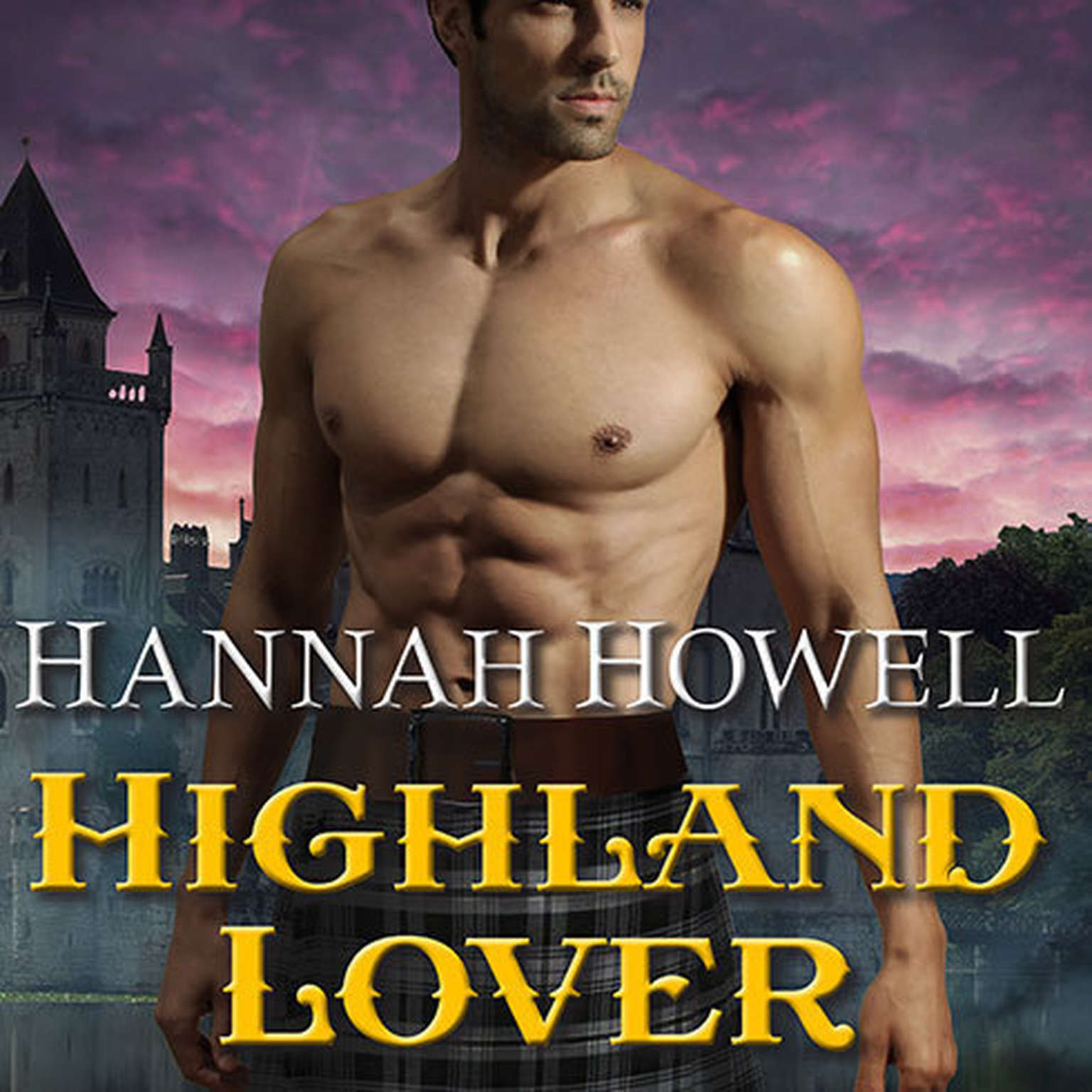 Printable Highland Lover Audiobook Cover Art
