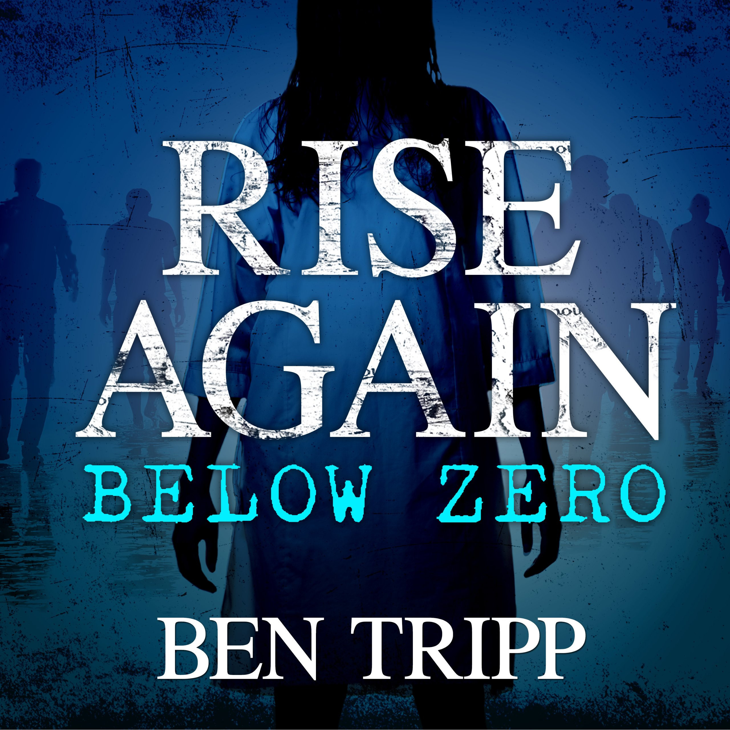 Printable Rise Again: Below Zero Audiobook Cover Art