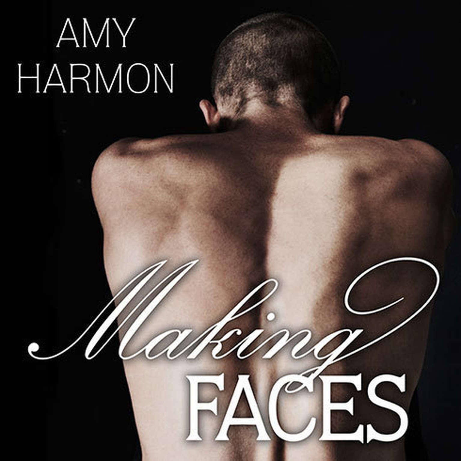 Printable Making Faces Audiobook Cover Art