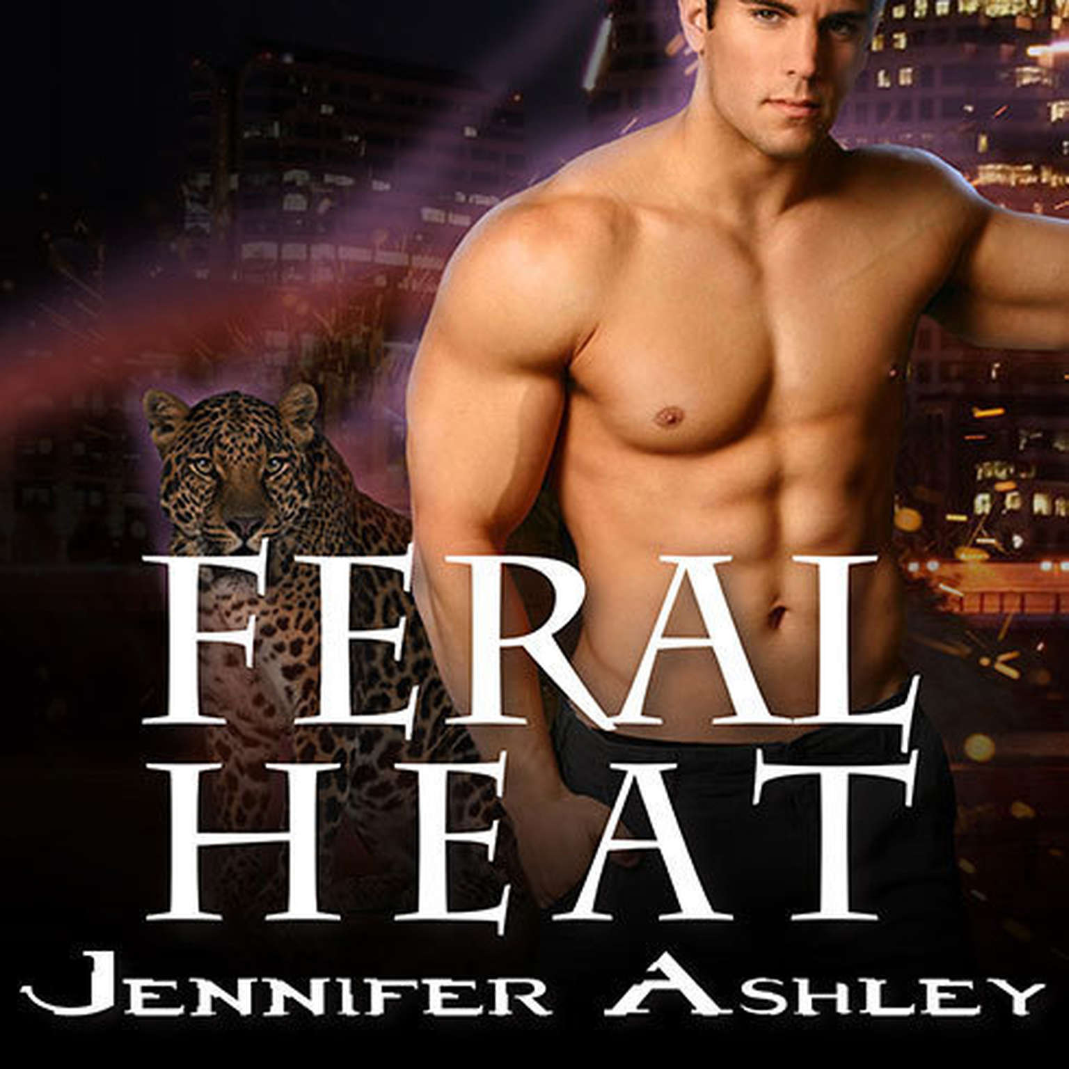 Printable Feral Heat Audiobook Cover Art
