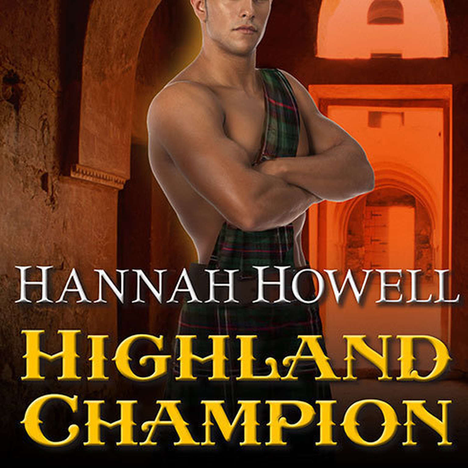 Printable Highland Champion Audiobook Cover Art